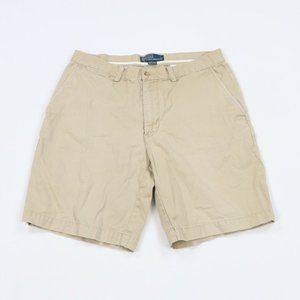 Vtg Ralph Lauren Prospect Box Logo Chino Shorts